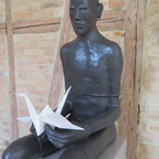 man with papercrane II (3)